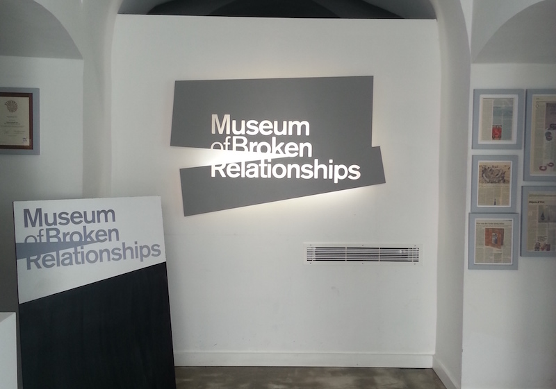 Zagreb Museums of broken relationships