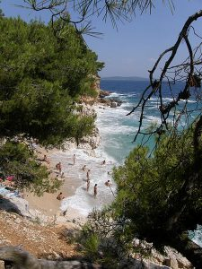 Jagodna beach best beaches in hvar