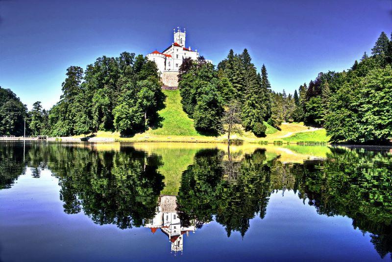 Trakošćan Castle, Croatia