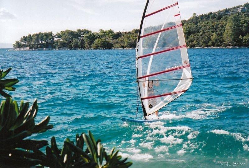 Windsurf On Korcula Island