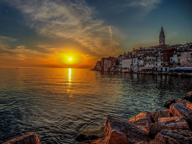 Sunsets in Croatia