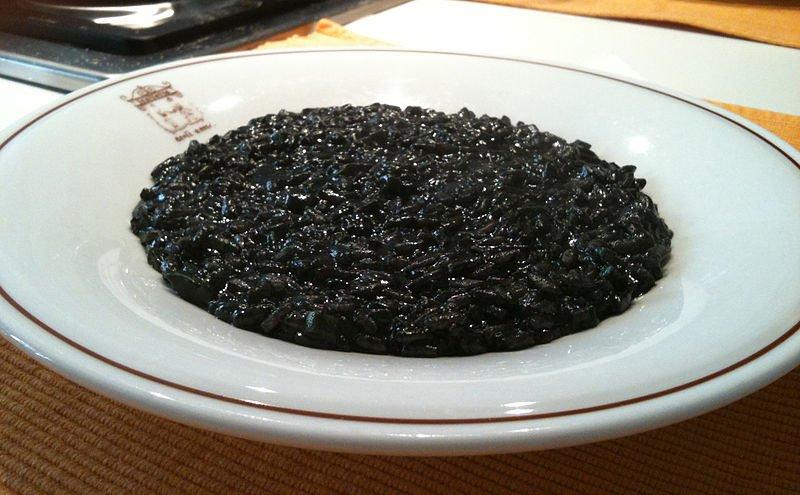 crni rizot